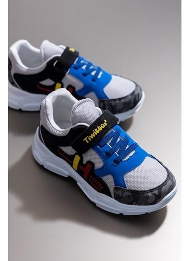 Tonny Black Füme Gri Çocuk Spor Ayakkabı Tbz13 Füme